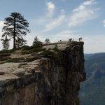 Taft Point - Site of Fatal Base Jump (2015-05-16)