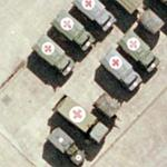 Military ambulances (Google Maps)