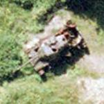 Destroyed Tank (Google Maps)