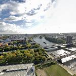 View from Weser Tower