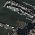 USS Intrepid (Google Maps)