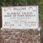 Welcome to Olosega Island