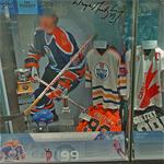 Wayne Gretzky display