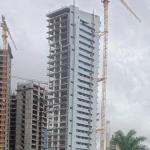 IMOB Business Tower (tallest building in Angola) under construction