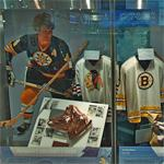 Bobby Orr display