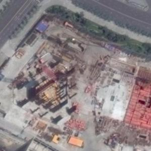 Dalian Greenland Center under construction (Google Maps)