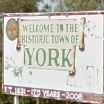 Welcome to the Historic Town of York