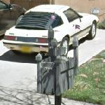 RX-7 (George R. R. Martin car) and castle Mailbox