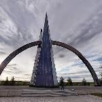 Salekhard Arctic Circle Monument