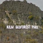 Kilim Geoforest Park sign