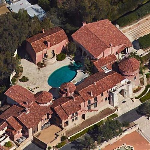 L A Houses: Katy Perry's House In Los Angeles, CA (Google Maps