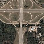 Clover Interchange - US Route 65 and SR66 (Google Maps)