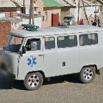 Mongolian ambulance