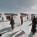 Ice Festival at Lake Khovsgol