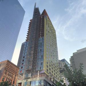 125 Greenwich Street under construction (StreetView)