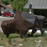 'Buffalo' by Lyndon Fayne Pomeroy (StreetView)