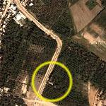 2006-06-07 - Best Guess to location Abu Musab al-Zarqawi was killed (Google Maps)