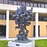"""Our Tree of Life' by Jacques Lipschitz"