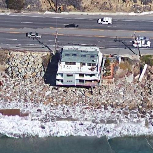 Lana Del Rey S House In Malibu Ca Google Maps 2