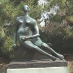 'Seated Woman' by Henry Moore