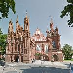 Church of St. Anne, Vilnius (StreetView)