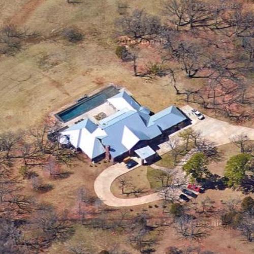 Mat Hoffman's House In Edmond, OK (Google Maps