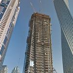 DAMAC Heights under construction (StreetView)