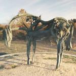 'Cast Bronze Horse' by Deborah Butterfield (StreetView)