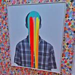 'Brilliant Information Overload Pop Head' by Douglas Coupland