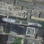 Canary Wharf Crossrail station by Foster + Partners (Google Maps)