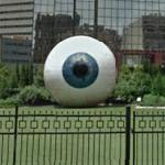 Giant Eye by Tony Tasset
