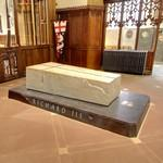 King Richard III's grave at Leicester Cathedral