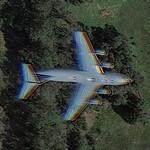 Boeing C-17 Globemaster III in flight (Google Maps)