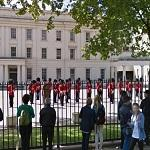 Foot Guards at Wellington Barracks