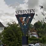 Newenden village sign (StreetView)