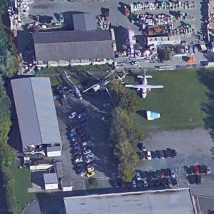 Auerbach aircraft collection (Google Maps)
