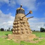 35 Foot Straw Dalek