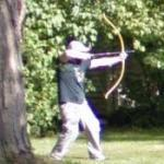William Tell Apple Shot Reenactment