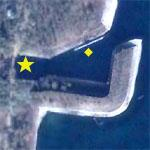 North Korean Underground Sub Pens (Google Maps)