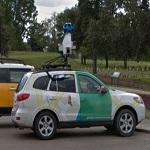 Parked Google car... again