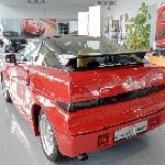 Alfa Romeo SZ in car showroom