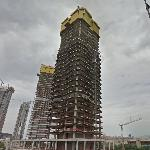 Mistral Office Tower under construction