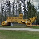World's Largest Tree Crusher