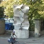 'Construction in Aluminum' by Kenneth Martin (StreetView)
