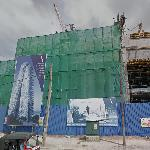Altair (tallest building in Sri Lanka) under construction (StreetView)