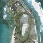 Kwajalein ballistic missile intercept launch site (Google Maps)