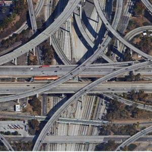 "110/105 Interchange (""True Detective"") (Google Maps)"