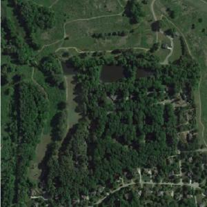 Abandoned Wake Forest Country Club (Google Maps)