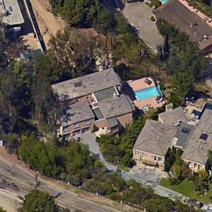 Ariana Grande's House (leased) (Google Maps)
