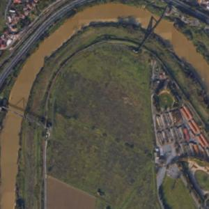 Future site of new Stadio della Roma (Google Maps)